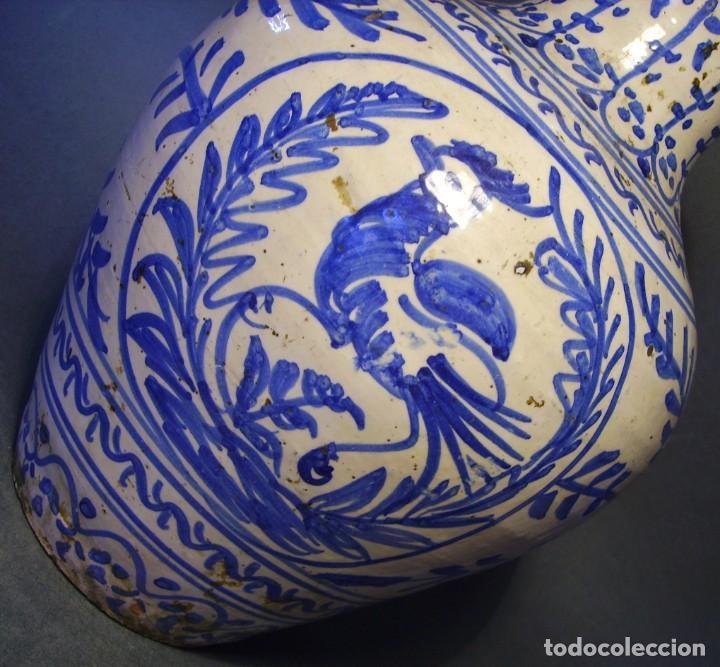 Antigüedades: GRAN JARRÓN CERÁMICA DE TALAVERA XIX - Foto 11 - 139744194