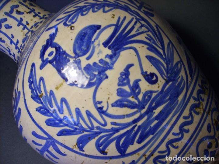 Antigüedades: GRAN JARRÓN CERÁMICA DE TALAVERA XIX - Foto 14 - 139744194