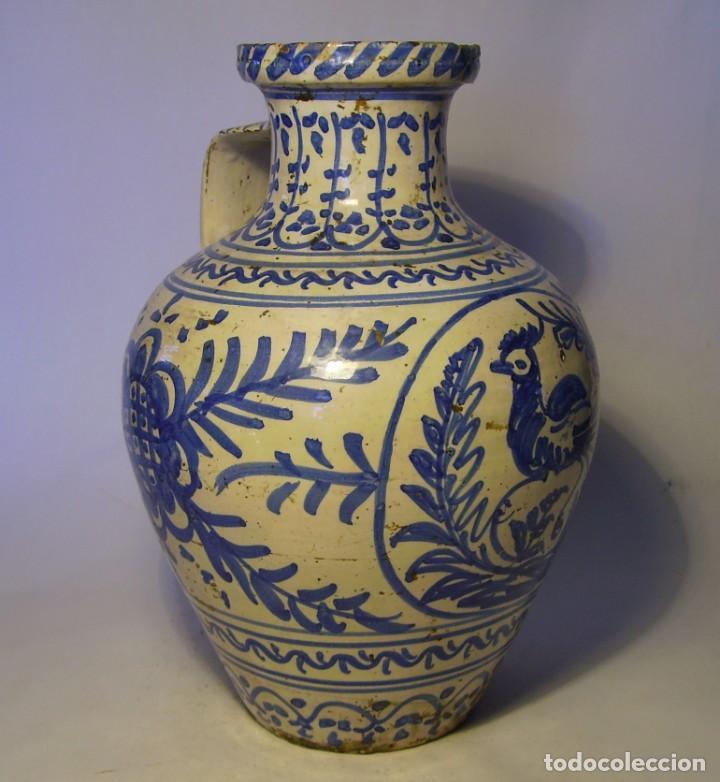 Antigüedades: GRAN JARRÓN CERÁMICA DE TALAVERA XIX - Foto 18 - 139744194