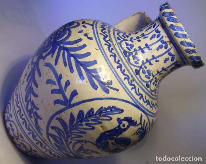 Antigüedades: GRAN JARRÓN CERÁMICA DE TALAVERA XIX - Foto 20 - 139744194