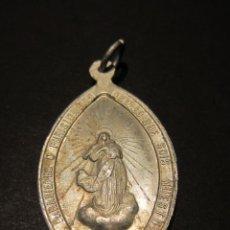 Antigüedades: MEDALLA VIRGEN MARIA. ALUMINIO.. Lote 139746506