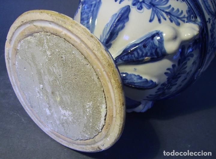 Antigüedades: GRAN Y ROTUNDO JARRÓN CERÁMICA DE TALAVERA XIX-XX - Foto 23 - 139746554
