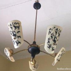 Antigüedades: LAMPARA AÑOS 60. Lote 139768486