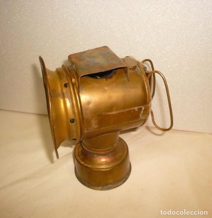 Antigüedades: LAMPARA DE CARBURO - Foto 2 - 139777002