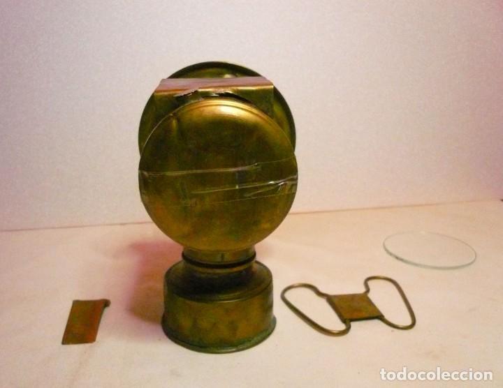 Antigüedades: LAMPARA DE CARBURO - Foto 4 - 139777002
