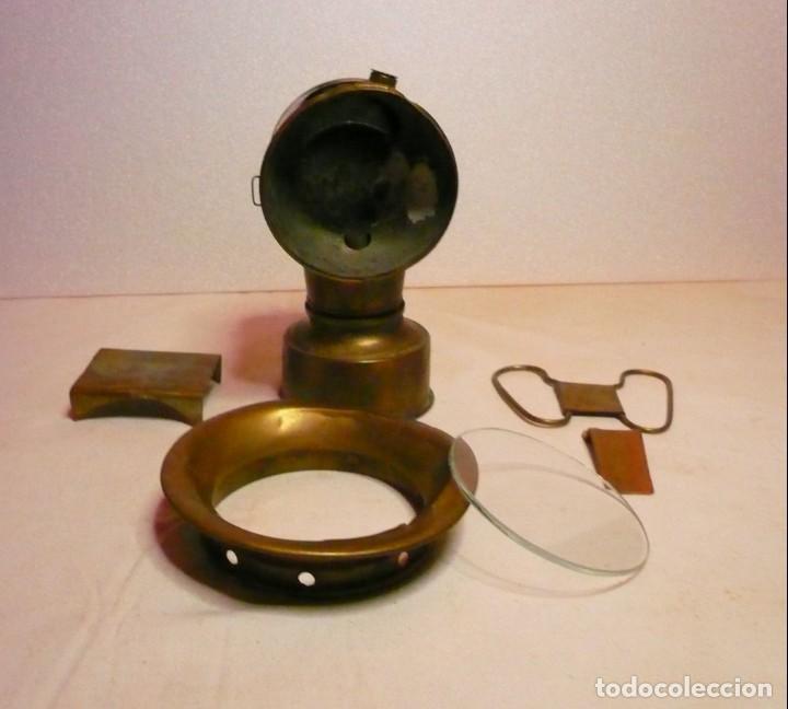 Antigüedades: LAMPARA DE CARBURO - Foto 5 - 139777002