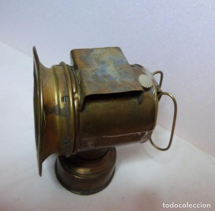 Antigüedades: LAMPARA DE CARBURO - Foto 6 - 139777002