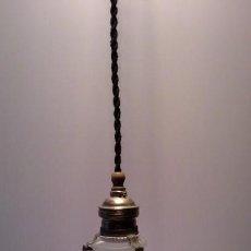 Antigüedades: ANTIGUA LAMPARA PARA COLGAR. Lote 139786410