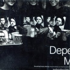 Discos de vinilo: DEPECHE MODE / EVERYTHING COUNTS / NOTHING (SINGLE PROMO 1989). Lote 139787366