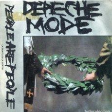 Discos de vinilo: DEPECHE MODE / LA GENTE ES LA GENTE / IN YOUR MEMORY (SINGLE PROMO 1984). Lote 139787894
