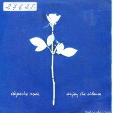 Discos de vinilo: DEPECHE MODE / ENJOY THE SILENCE / MEMPHISTO (SINGLE PROMO 1990). Lote 139788326