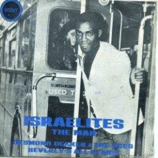 Discos de vinilo: DESMOND DEKKER & THE ACES / ISRAELITES - BEVERLY'S ALL STAR / THE MAN (SINGLE 1969). Lote 139789358