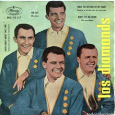 Discos de vinilo: LES DIAMONDS / SHE SAY + 3 (EP 1959). Lote 139789514