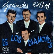 Discos de vinilo: LOS DIAMONDS / WALKING ALONG / HAPPY YEARS / GRETCHEN / ETARNAL LOVERS (EP 1959). Lote 139789658