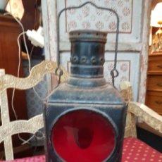 Antigüedades: ANTIGUO FAROL FERROVIARIO DE TREN GRANDE.. Lote 139802857