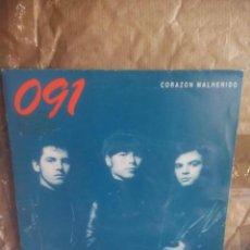 Discos de vinilo: 091 – CORAZON MALHERIDO.SINGLE PROMO 1991. Lote 139829430