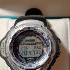 Relojes - Casio: CASIO MÓDULO 2198 PRT-41 BARÓMETRO TERMÓMETRO RARO . Lote 139832782