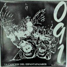Discos de vinilo: 091- LA CANCION DEL ESPANTAPAJAROS- SG PROMO- ED. ESPAÑOLA-1991. Lote 139850662