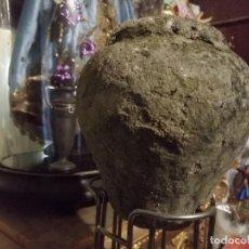 Antigüedades: ANTIGUA COLUMNA BALUSTRADA, DE PIEDRA - GRAN TAMAÑO ENVIO O RECOGER CADIZ SUJETA PUERTAS. Lote 139869938