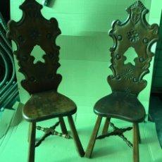 Excelentes 4 sillas luis xiii madera maciza com vendido en subasta 40185594 - Escabeles tapizados ...