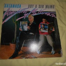 Discos de vinilo: ALMADOVAR - MCNAMARA - VOY A SER MAMA - SATANASA 1983 MOVIDA POP - MAXI. Lote 139897446