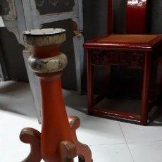 Antigüedades: ANTIGUO PIÉ DE HACHERO.. Lote 139910206