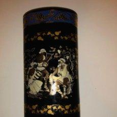 Antigüedades: JARRÓN GRIEGO. ADIS GOLD 24K.. Lote 139916426