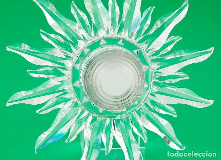 Antigüedades: Swarovski con Diseño de Reloj Sol con Los Colores del Arco Iris - Foto 6 - 139931350