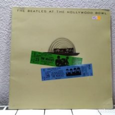 Discos de vinilo: THE BEATLES AT THE HOLLYWOOD BOWL. Lote 139944642