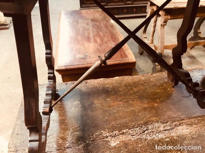 Antigüedades: Mesa de pata de lira. - Foto 3 - 139950394