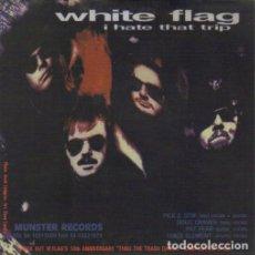 Discos de vinilo: I HATE THAR TRIP / SUICIDE KING. - WHITE FLAG / LA SECTA. SINGLE 7 45 R.P.M. POP-ROCK.. Lote 139955486
