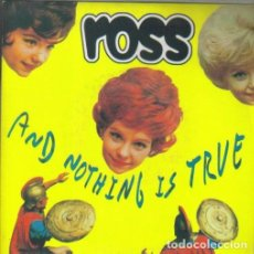 Discos de vinilo: AND NOTHING IS TRUE. - ROSS. EP. 7 45 R.P.M. POP-ROCK.. Lote 139955498