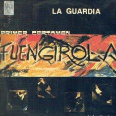 Discos de vinilo: I CERTAMEN POP-ROCK VILLABLANCA FUENGIROLA- 85. - MAXI-SINGLE 12 45 R.P.M. LA GUARDIA. POP-ROCK ESPA. Lote 139957065