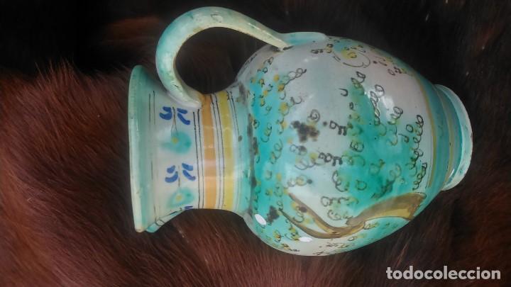 PRECIOSA JARRA CON MÁS DE SETENTA AÑOS CERTIFICADOS PUENTE DEL ARZOBISPO POR SÓLO CUARENTA EUROS (Antigüedades - Porcelanas y Cerámicas - Puente del Arzobispo )