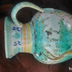Antigüedades: PRECIOSA JARRA CON MÁS DE SETENTA AÑOS CERTIFICADOS PUENTE DEL ARZOBISPO POR SÓLO CUARENTA EUROS. Lote 139967150