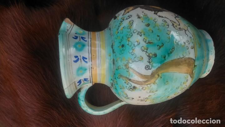 Antigüedades: preciosa jarra con más de setenta años certificados puente del arzobispo por sólo cuarenta euros - Foto 2 - 139967150