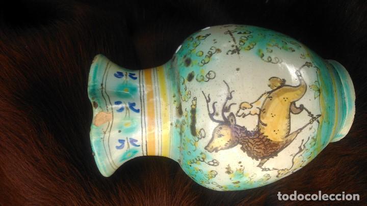 Antigüedades: preciosa jarra con más de setenta años certificados puente del arzobispo por sólo cuarenta euros - Foto 3 - 139967150