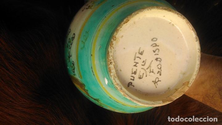 Antigüedades: preciosa jarra con más de setenta años certificados puente del arzobispo por sólo cuarenta euros - Foto 4 - 139967150