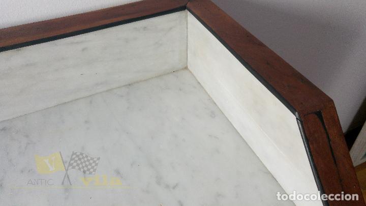 Antigüedades: Cómoda antigua con mármol - Foto 5 - 139968230