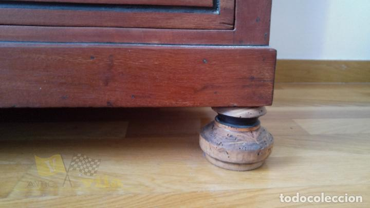 Antigüedades: Cómoda antigua con mármol - Foto 8 - 139968230