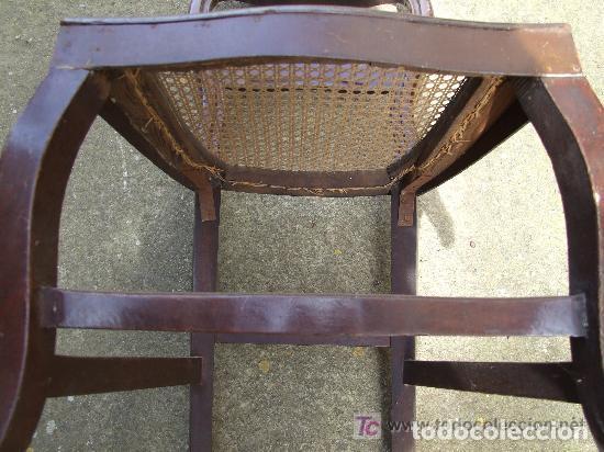 Antigüedades: SILLA CAOBA, 6 SILLAS ISABELINAS DE CAOBA PARA RESTAURAR - Foto 4 - 139969790