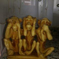 Antigüedades: LOS TRES MOMOS SABIOS. Lote 139972416