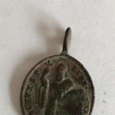 Antigüedades: MEDALLA MEDIEVAL VIRGEN MONTSERRAT ??. Lote 139972746
