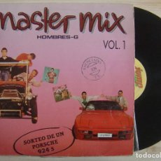Discos de vinilo: HOMBRES-G - MASTER MIX VOL. 1 - LP 1987 - JUMP. Lote 139996878