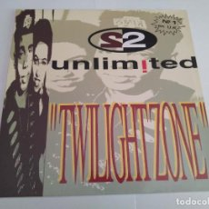 Discos de vinilo: 2 UNLIMITED - TWILIGHT ZONE / MAXI SINGLE TEMAZOS RUTA DESTROY VALENCIA. Lote 140004678