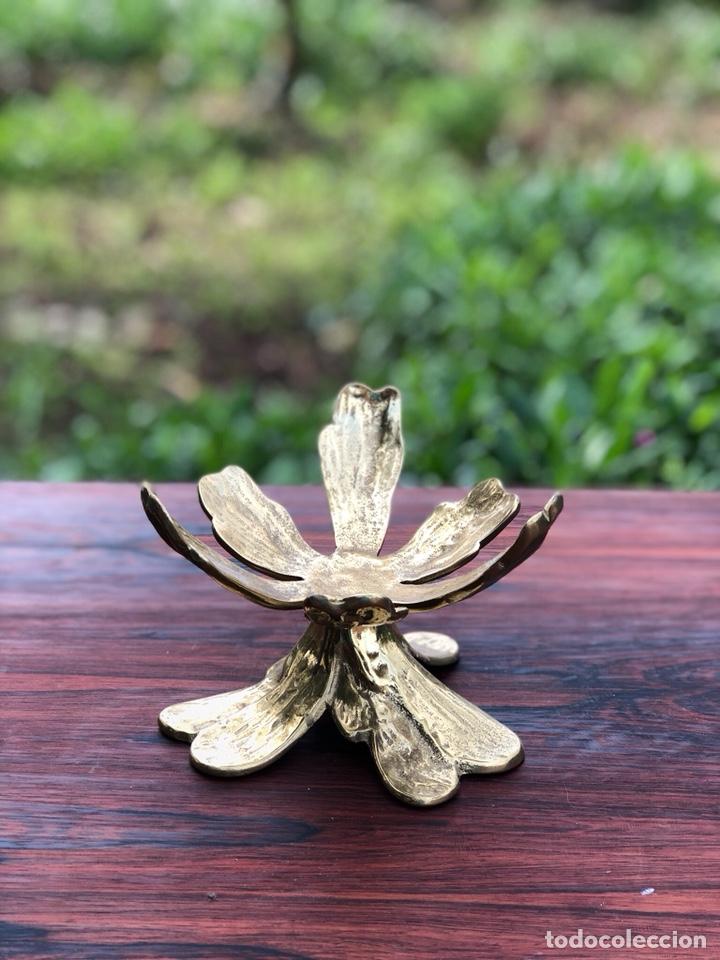 Antigüedades: Escultura vintage latón - Foto 3 - 137582080