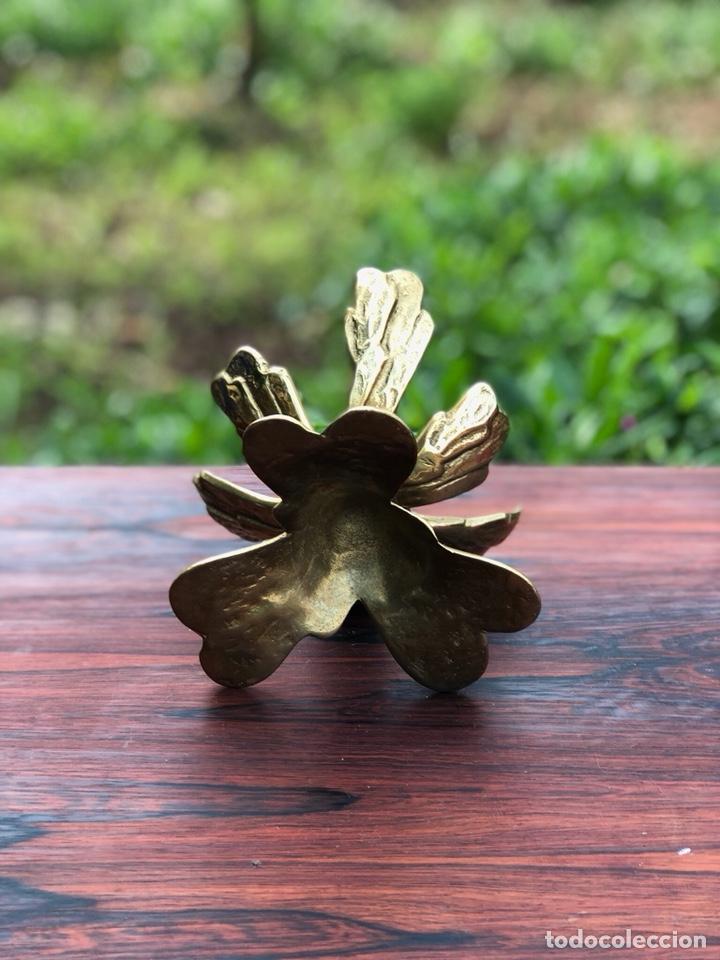 Antigüedades: Escultura vintage latón - Foto 4 - 137582080