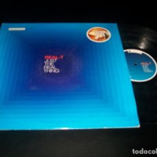 Discos de vinilo: REAL - T - JUST THE REAL THING- ELECTRONIC - 2003. Lote 140024862
