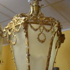 Antigüedades: LAMPARA. Lote 140027069