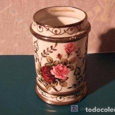 Antigüedades: JARRON, ALBARELO, FARMACIA PORCELANA DE BOHEMIA. Lote 140029858